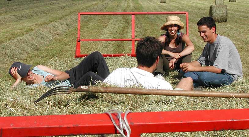giovani agricoltori
