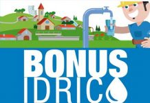 bonus idrico 2018